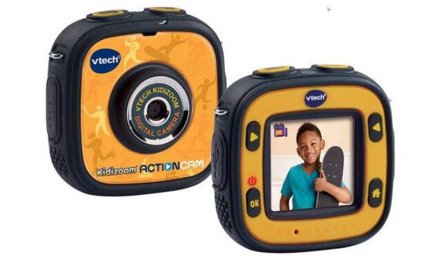 Mit der Action Cam vom Vtech können die Kids ihre Abenteuer festhalten (Bild: Vtech)