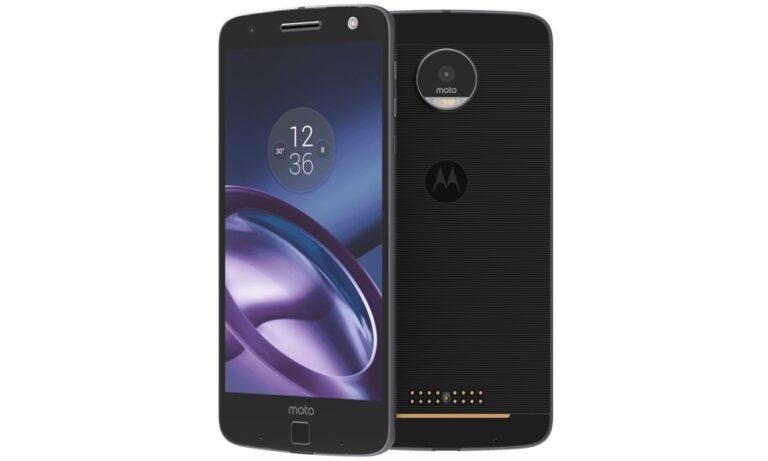 Motorola Moto Z: Die Knöpfe unten auf der Rückseite dienen zum Andocken der Mods. Bild: Motorola