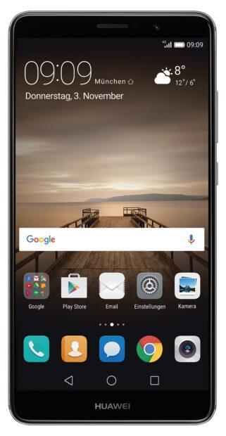 Huawei Mate 9: Kein außergewöhnliches Design, oder? (Foto: Huawei)