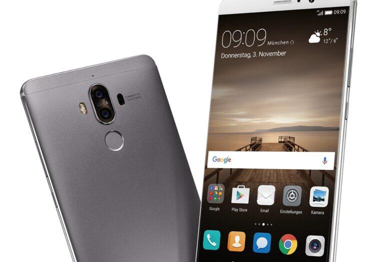 Huawei – hier noch mit dem Mate 9