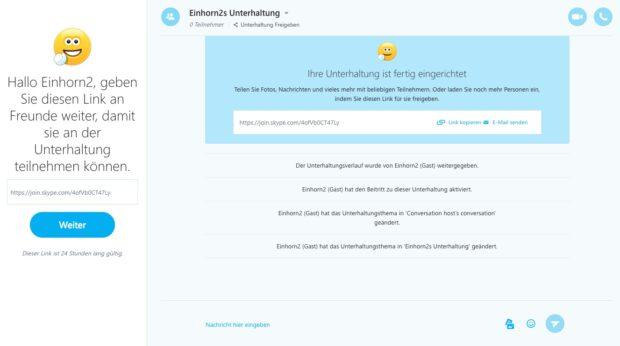 Skype Web-Version