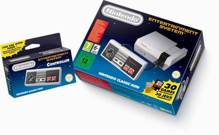 Das Mini NES sorgte für einen Retro-Hype. (Foto: Nintendo)