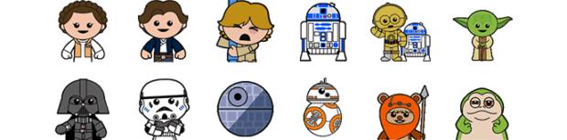 Süße Emojis. (Foto: SoftBank)