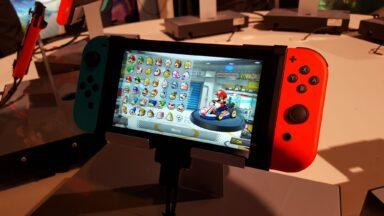 Mario Kart 8 auf Switch. Nun. Mario Kart eben. (Foto: Sven Wernicke)