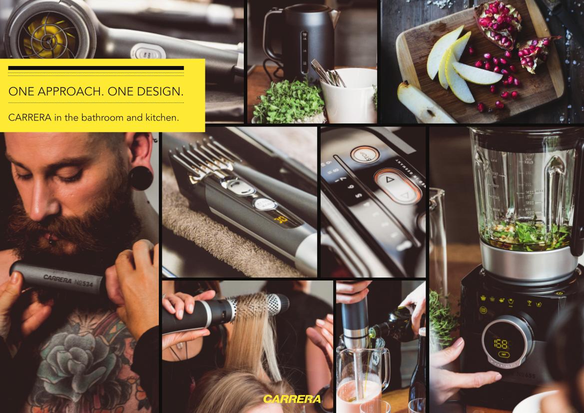 Carrera bringt Style in Küche und Bad | EURONICS Trendblog