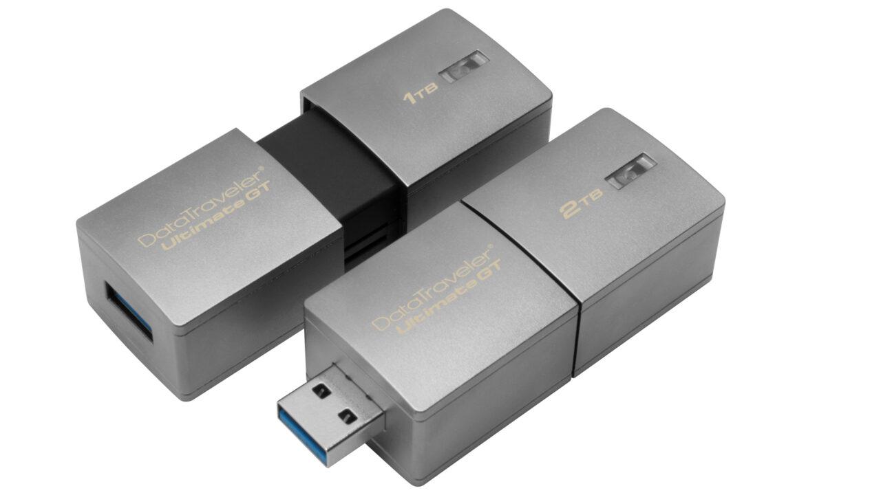 Erster USB-Stick mit 2 TB Speicherplatz ist der Kingston DataTraveler Ultimate GT