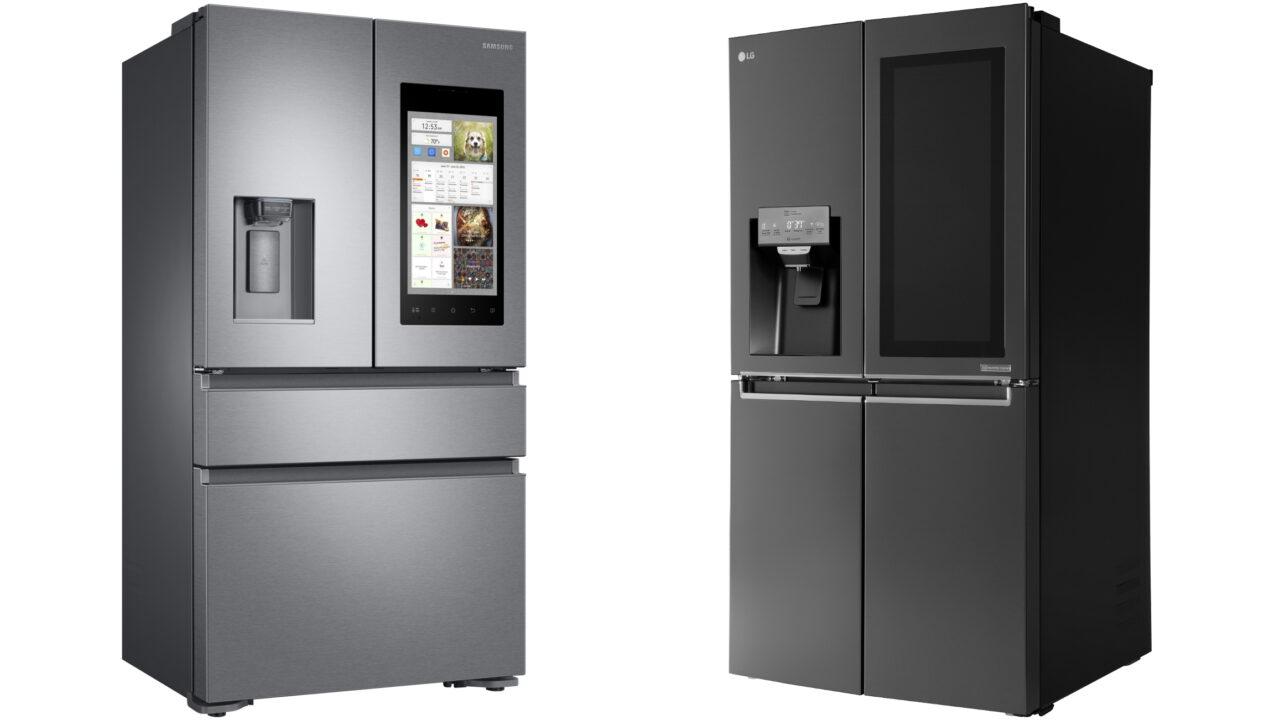 Hallo Alexa: Touchscreen-Kühlschränke mit Sprachsteuerung von LG und Samsung