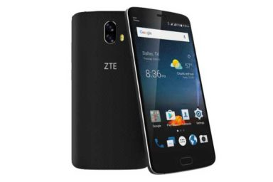 ZTE Blade V8: Erstes Mittelklasse-Smartphone auf dem deutschen Markt mit Dualkamera. Bild: ZTE