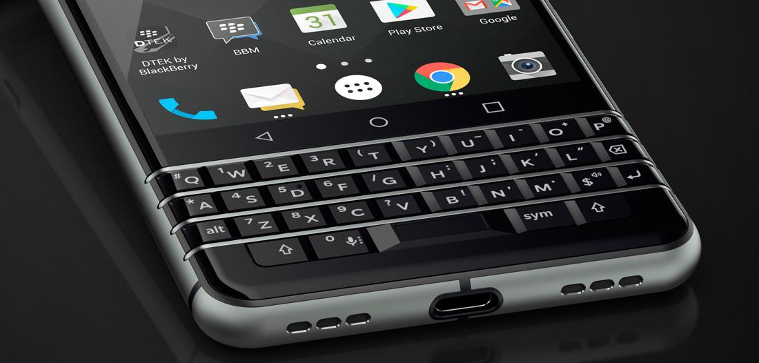 Blackberry KEYone: Ein Android-Smartphone mit Hardware-Tastatur