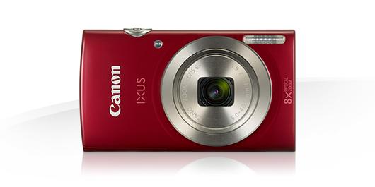 Canon Ixus 175: eine klassische Urlaubskamera, klein kompakt und mit wenig Einstellungsmöglichkeiten. Bild: Canon