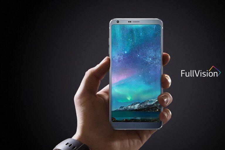 LG G6: Kommt mit einem riesigen, aber vergleichsweise handlichen 5,7-Zoll-Bildschirm daher.