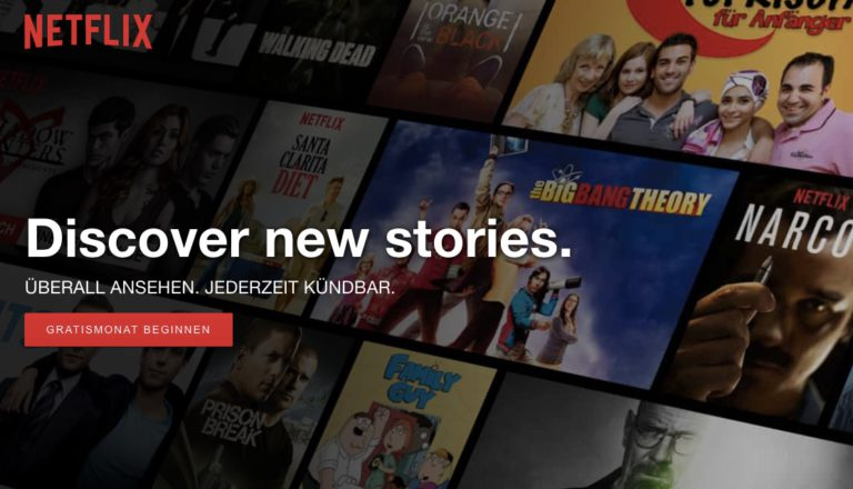 Netflix-Startseite: Muss es überhaupt noch Live-TV sein?