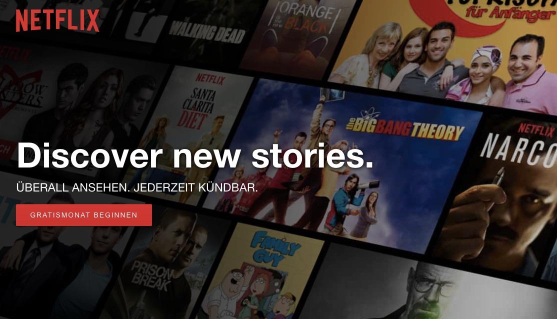 In den Haushalten wird gestreamt, was das Zeug hält. Es gibt immer etwas Neues zu entdecken. (Bild: Netflix)