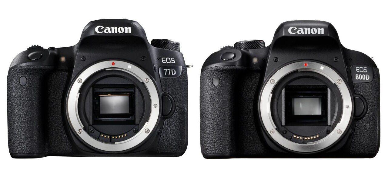 Canon verwirrt: Neue Kameras EOS 77D, 800D und M6 vorgestellt