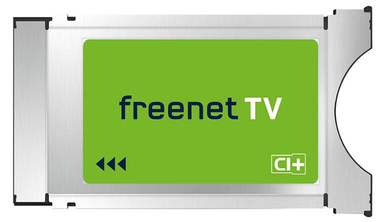 So sieht das CI+-Modul von freenetTV aus, das in den Fernseher gesteckt werden muss (Bild: freenetTV)