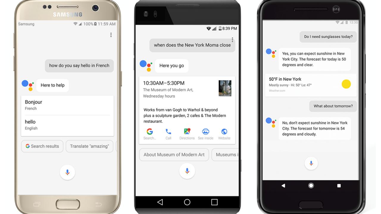 Google Assistant kommt aufs Smartphone – Alexa aber auch