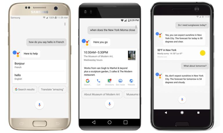Der Google Assistant kann auf dem Smartphone bereits Stimmen unterscheiden (Bild: Google)