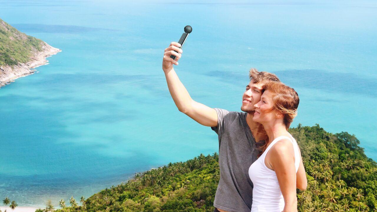 Insta 360 Air: Aufsteckkamera für 360-Grad-Livestreaming