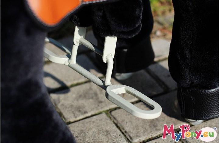 Sicherer Auf- und Abstieg. (Foto: MyPony.net / Euronics.de)