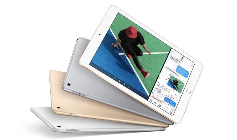 Das neue Apple iPad (2017) ersetzt das iPad Air 2. Bild: Apple