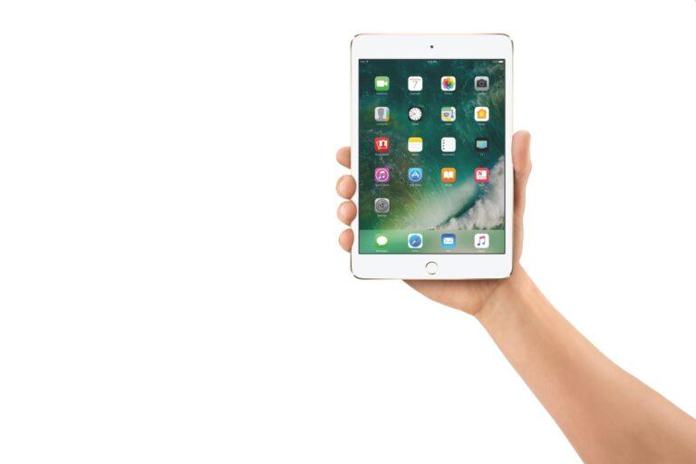 iPad Mini 4. Bild: Apple