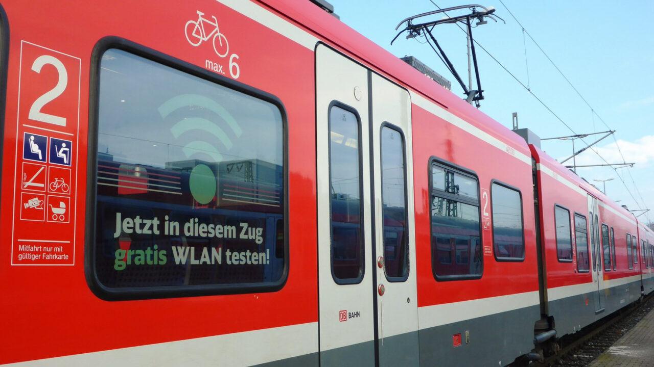 Besser spät als nie: Deutsche Bahn testet Gratis-WLAN im Regionalexpress