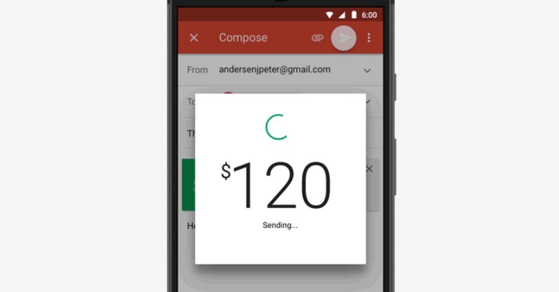 Google Gmail: Via App schnell und unkompliziert Geld versenden