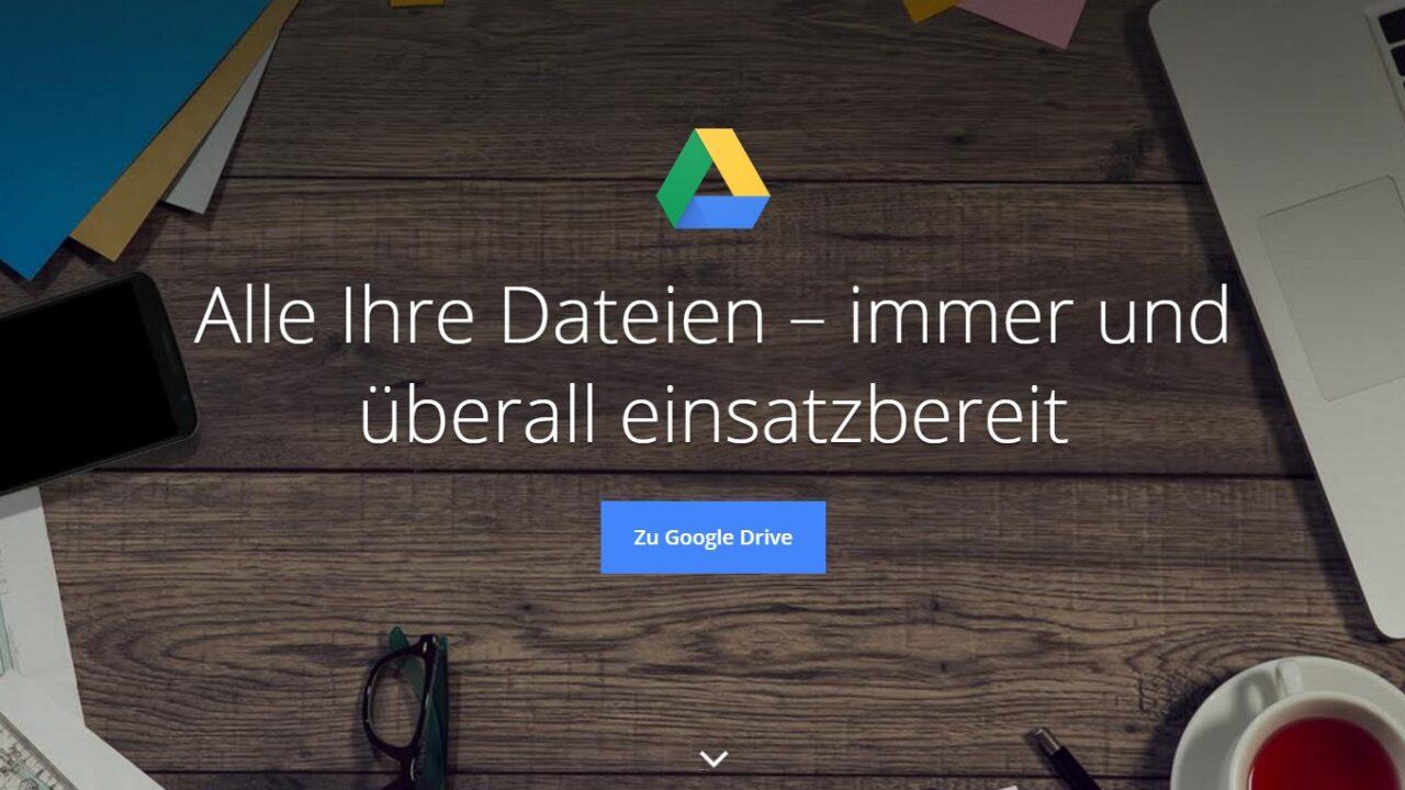 Google Cloud & Google Drive: Office, Bilderverwaltung und vieles mehr