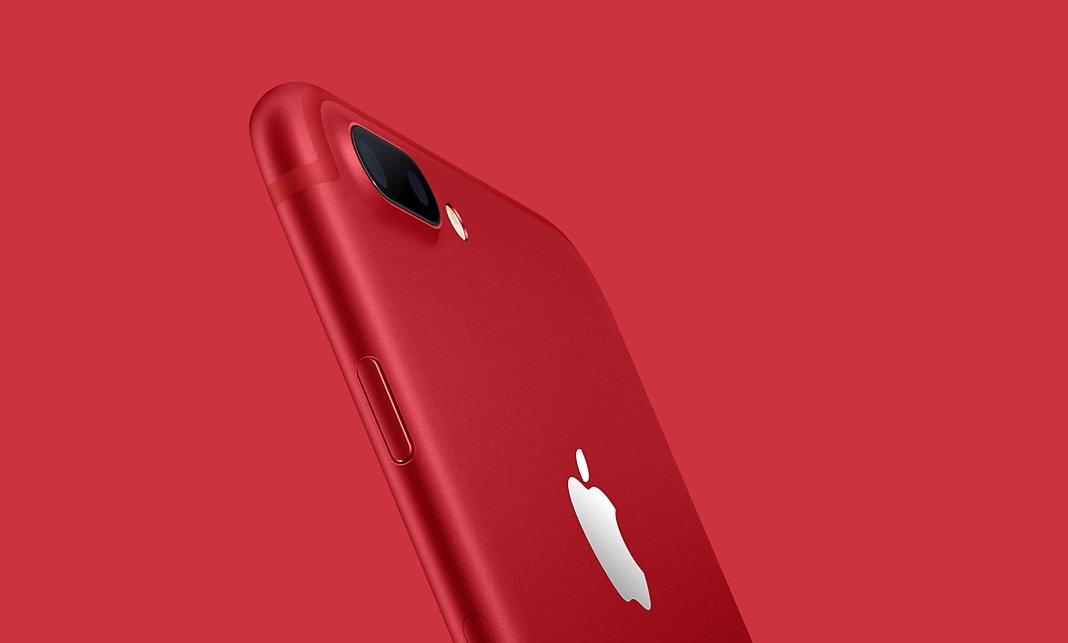Apple iPhone 7 Red: Was soll das eigentlich mit dem roten Telefon?