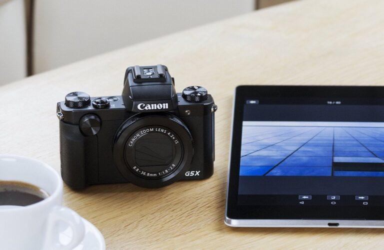 Canon PowerShot G5X. Bild: Canon