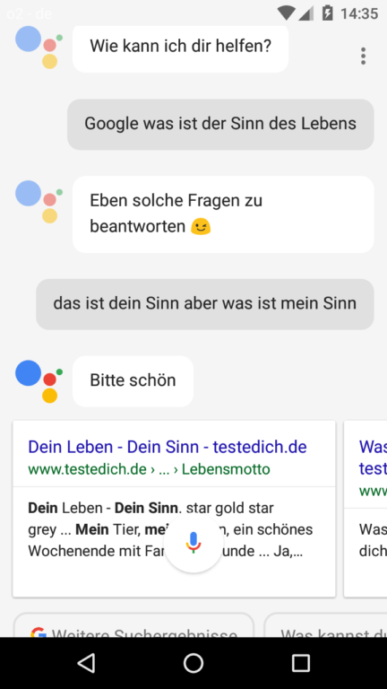 Google hat dem Assistant Sinn für Humor eingepflanzt.