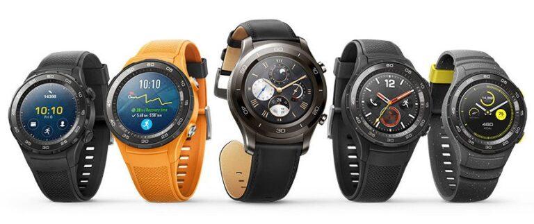 Smartwatches sehen immer mehr wie 'richtige' Uhren aus (Bild: Huawei)