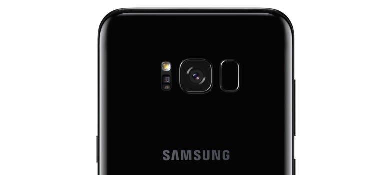 Rückseite des Samsung Galaxy S8 (Bild: Samsung)