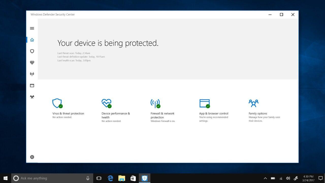 Creators Update verbessert Datenschutz unter Windows 10