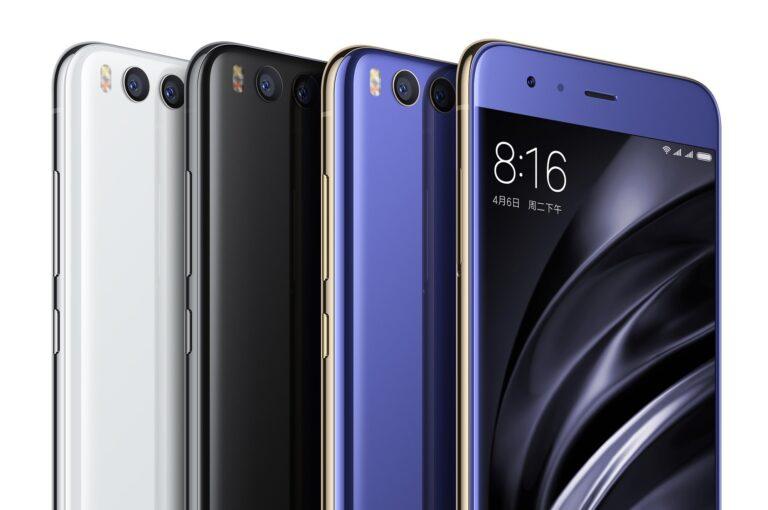 Xiaomi Mi 6 in drei Farben (Bild: Xiaomi)