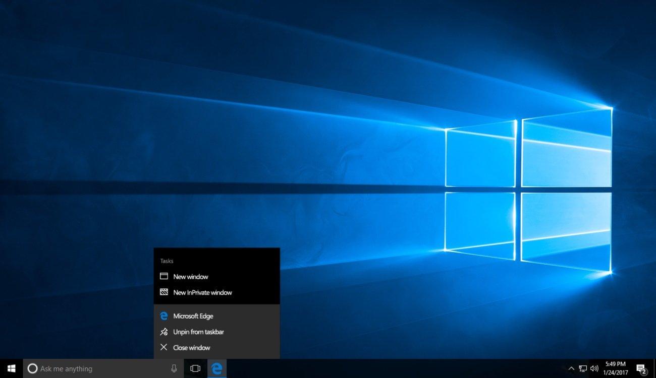 Das Creators Update bringt Windows 10 viele kleine Änderungen, die nichts mit Kreativität zu tun haben (Bild: Microsoft)