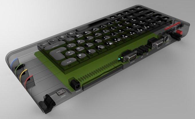 Das Design ist nocht nicht ganz final. (Foto: ZX Spectrum Next)