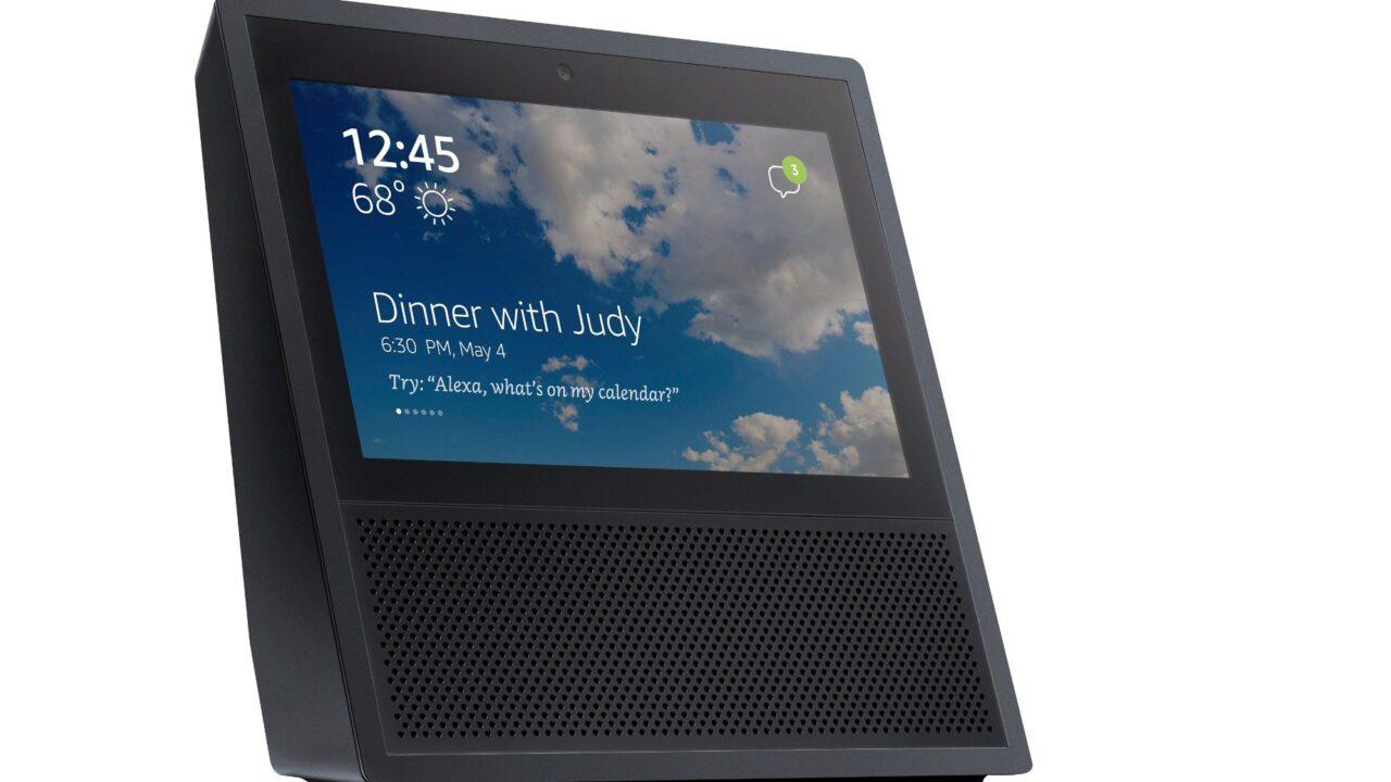 Echo Show mit Touchscreen: Sprachassistenten können jetzt auch Videokonferenzen