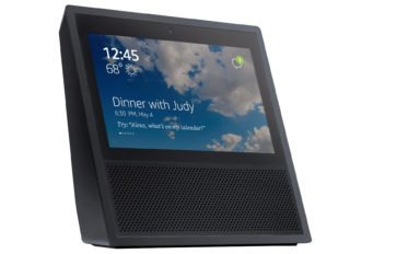 Amazon Echo Show (Bild: https://twitter.com/evleaks/status/860568968943341570)