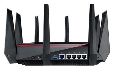 MU-MIMO-WLAN-Router Asus-RT-AC5300 (Bild: Asus)