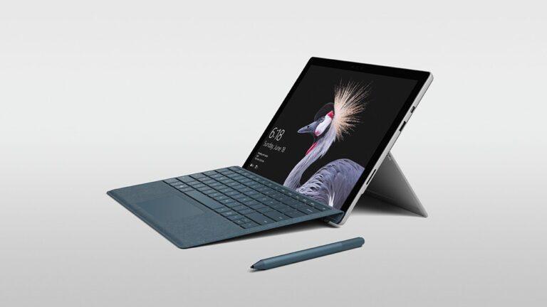 Das neue Surface Pro. Sieht dem alten sehr ähnlich. (Foto: Microsoft)