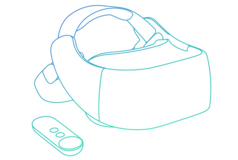 So soll das Headset von HTC aussehen. (Foto: Google)