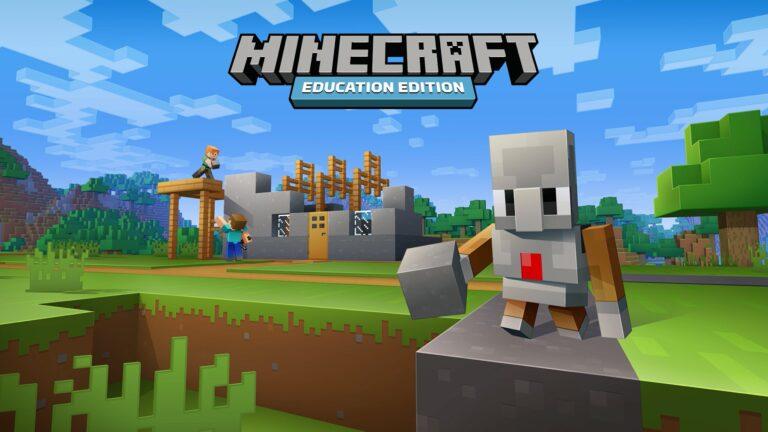 Programmieren mit Minecraft. (Foto: Microsoft)