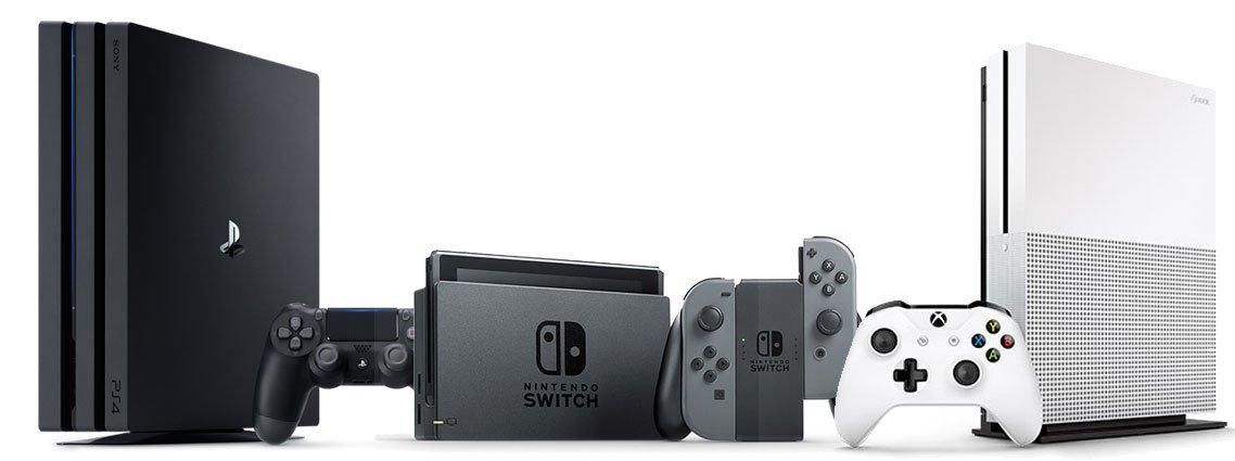 Welche Spielkonsole ist die richtige für mich: Nintendo Switch, PS4 oder Xbox One?