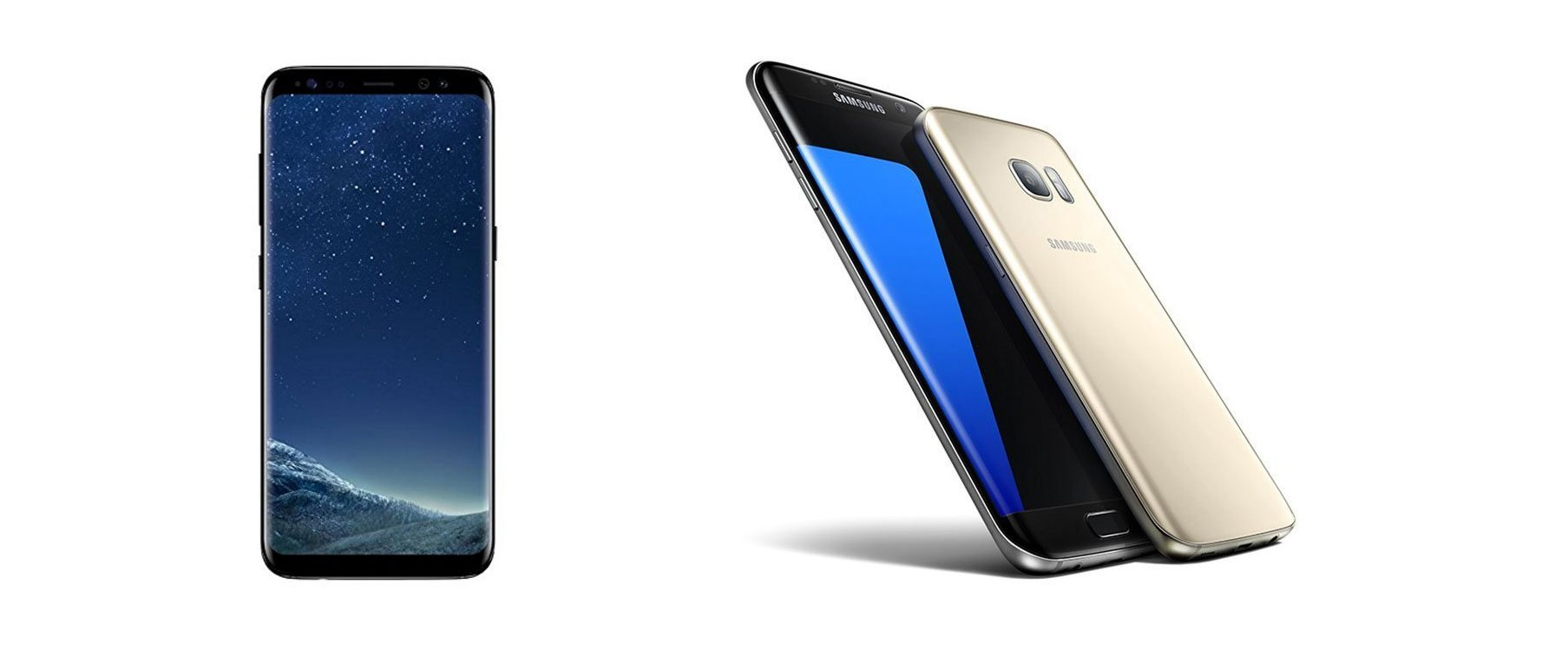 samsung galaxy s8 vs galaxy s7 edge welches smartphone. Black Bedroom Furniture Sets. Home Design Ideas
