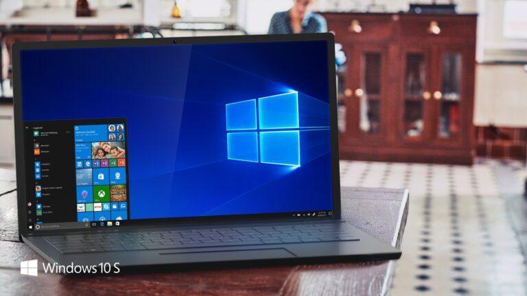Windows 10 S bietet die wichtigsten Eigenschaften von Windows 10. (Foto: Microsoft)