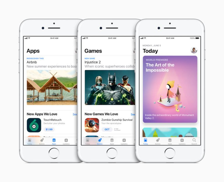 """iOS11: Der neue AppStore wird """"magaziniger""""."""
