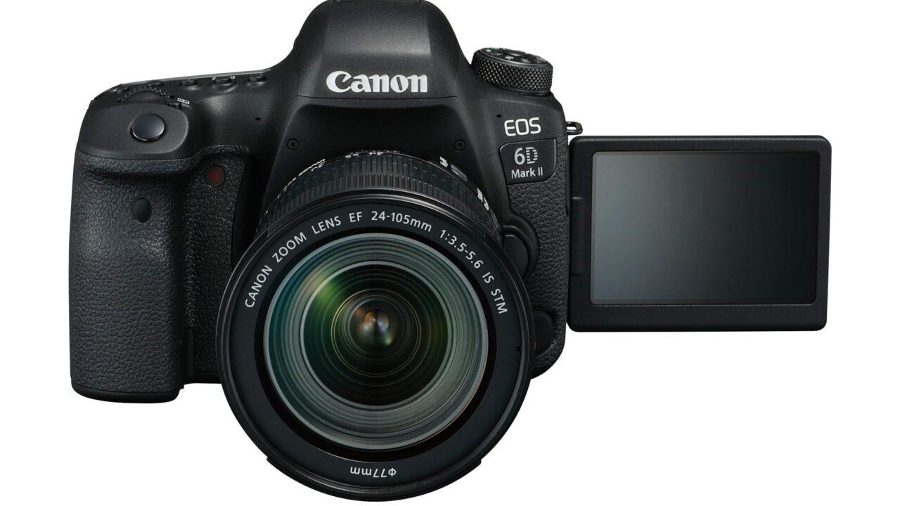 Canon EOS 6D Mark II: Vollformat-DSLR verzichtet auf 4K-Videoaufnahme