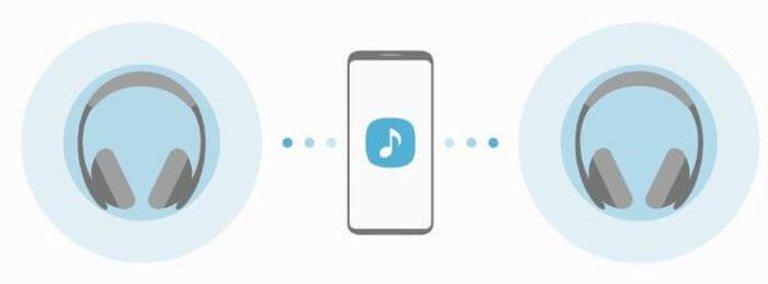 Zwei Bluetooth-Kopfhörer gleichzeitig an einem Smartphone