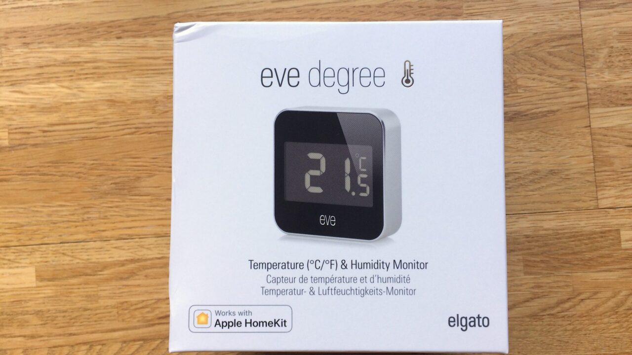 Elgato Eve Degree ausprobiert: Smartes Thermometer und Hygrometer für drinnen und draußen